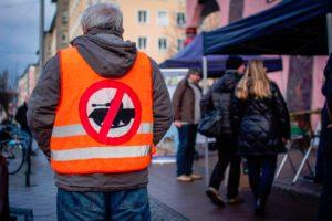 #NoNazis #NoWar (Infostand der Bürgerinitiative OFFENe HEIDe) @ Fußgängerzone Allee-Center