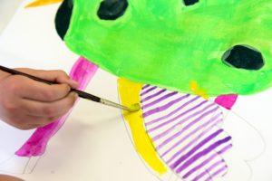 Lebendiges Linienspiel (Kunstaktion) @ Jugendkunstschule